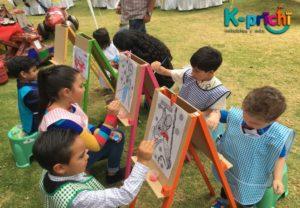 renta de caballetes para fiestas infantiles, renta de caballetes en df, k-prichi