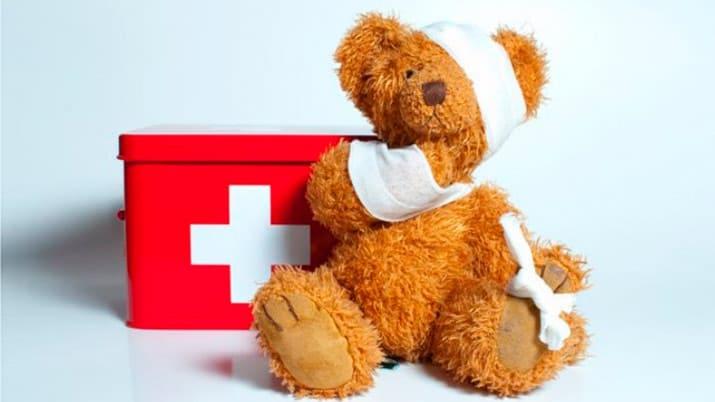 qué hacer en caso de un accidente con niños, accidentes más frecuentes con los pequeños