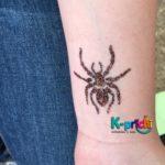 servicio de pintacaritas, tattoos de diamantina, fiestas infantiles, cdmx, pintacaritas,araña