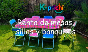 sillitas, mesitas, mobiliario infantil, económico,cdmx, renta