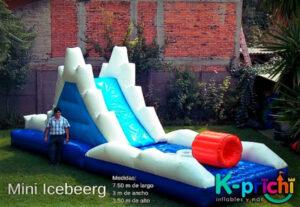 alquilar inflable en forma de iceberg, cuanto cuesta un inflable en el df, k-prichi
