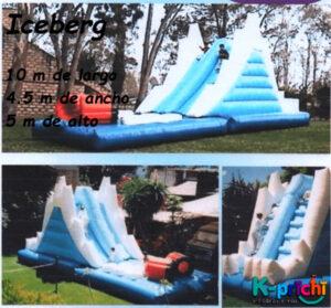 iceberg inflable, inflable para fiestas infantiles, k-prichi inflables para brincar