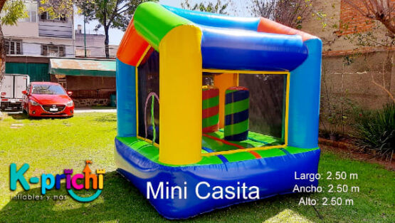renta inflable, mini casita, inflable chico, inflable para pequeños