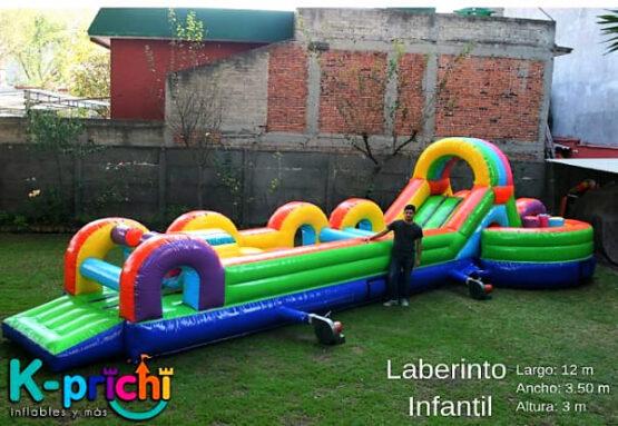 juego inflable en forma de laberinto, inflables infantiles para fiestas en estado de méxico, k-prichi