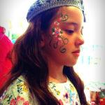 servicio de pintacaritas, tattoos de diamantina, fiestas infantiles, cdmx, pintacaritas, flores