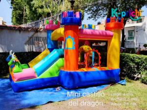 renta de mini castillo, renta de inflable para fiesta infantil, kprichi