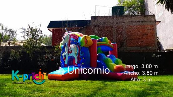 renta de inflable de unicornio cdmx, donde rentar un inflable de unicornio para fiestas, brincolines de unicornio renta df, inflable de unicornio, kprichi