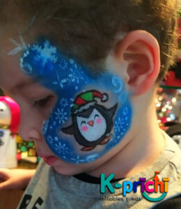 servicio de pintacaritas, tattoos de diamantina, fiestas infantiles, cdmx, pinguino, pintacaritas