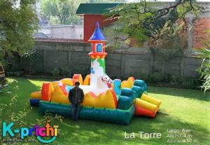 renta de juego inflable, inflable para fiesta infantil en cdmx, k-prichi