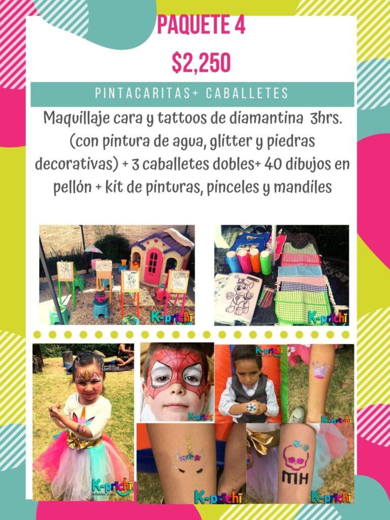 pintacaritas para fiestas en cdmx, servicio de maquillaje para fiestas de niños, renta de caballetes para niños df, servicio de pintar dibujos en fiestas infantiles, k-prichi